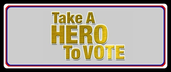 Take a Hero to Vote