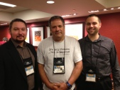 Story Plant Authors at Thrillerfest From L-R: Ethan Cross, Tom Avitabile, Jeremy Burns
