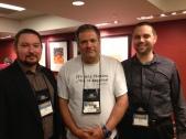 Story Plant Authors at Thrillerfest From L-R: Ethan Cross, Tom Avitabile, Jeremy Burns